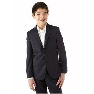 LAUREN RALPH LAUREN black suit jacket boy's 20